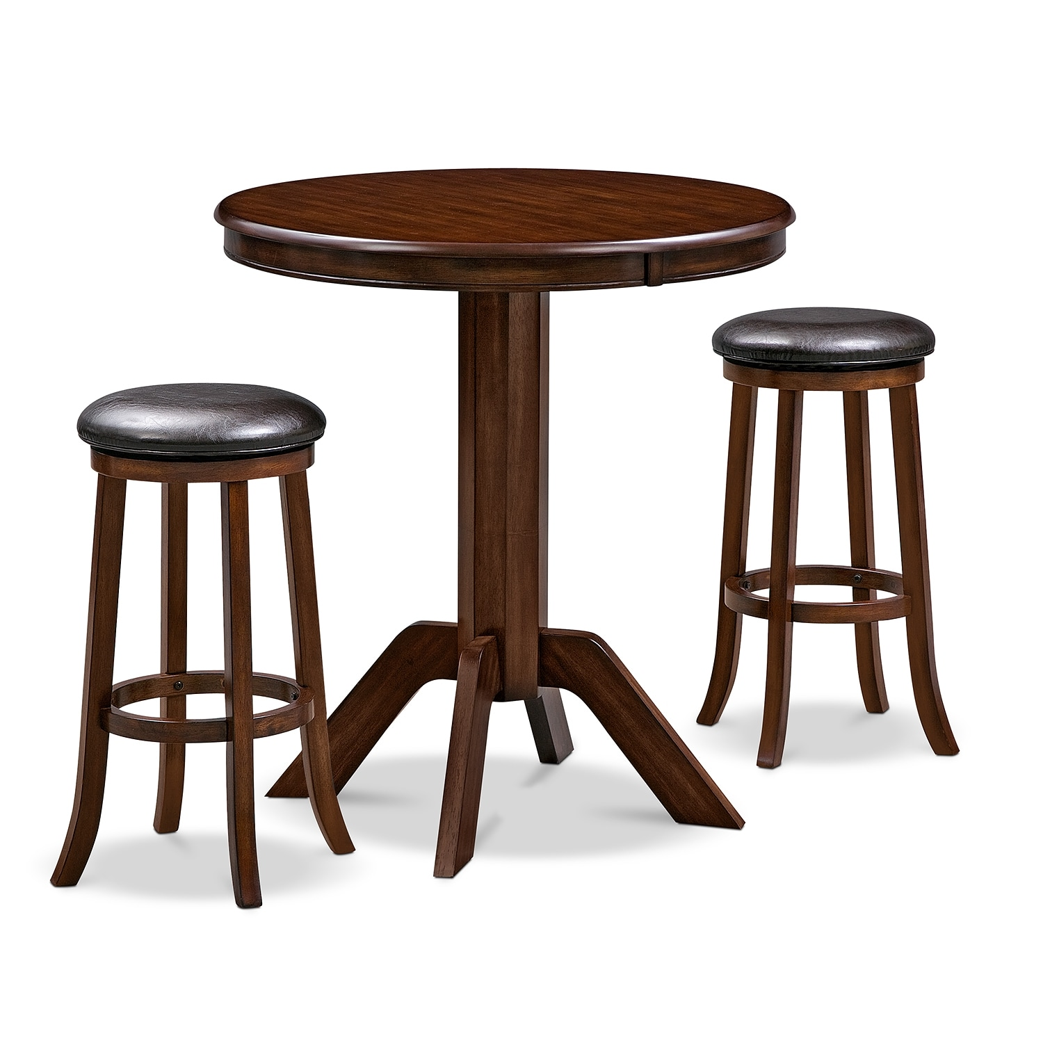 Dining Room Furniture - Concord Tinker 3 Pc. Bar-Height Dinette