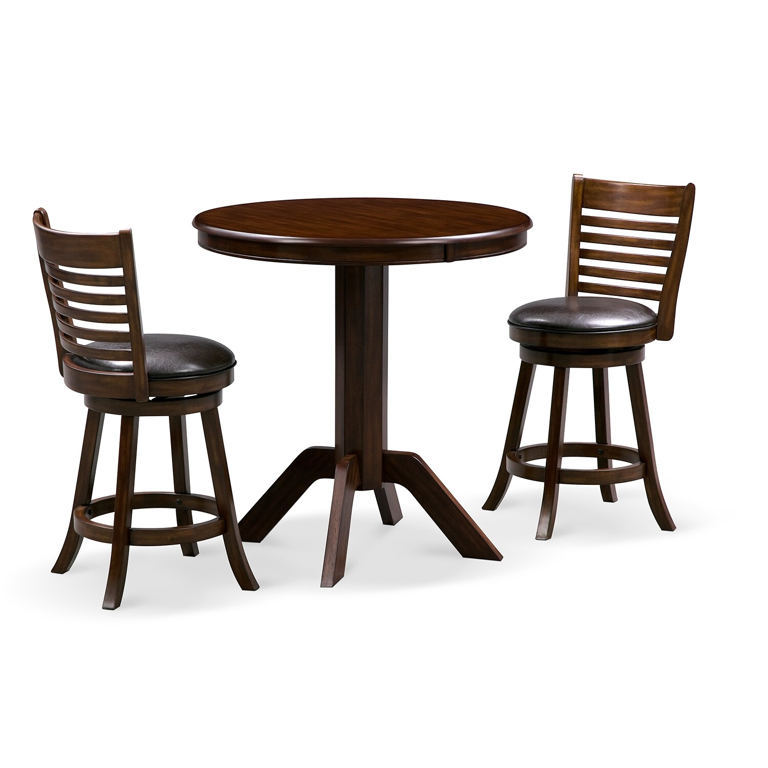 Dining Room Furniture - Concord Chance 3 Pc. Counter-Height Dinette