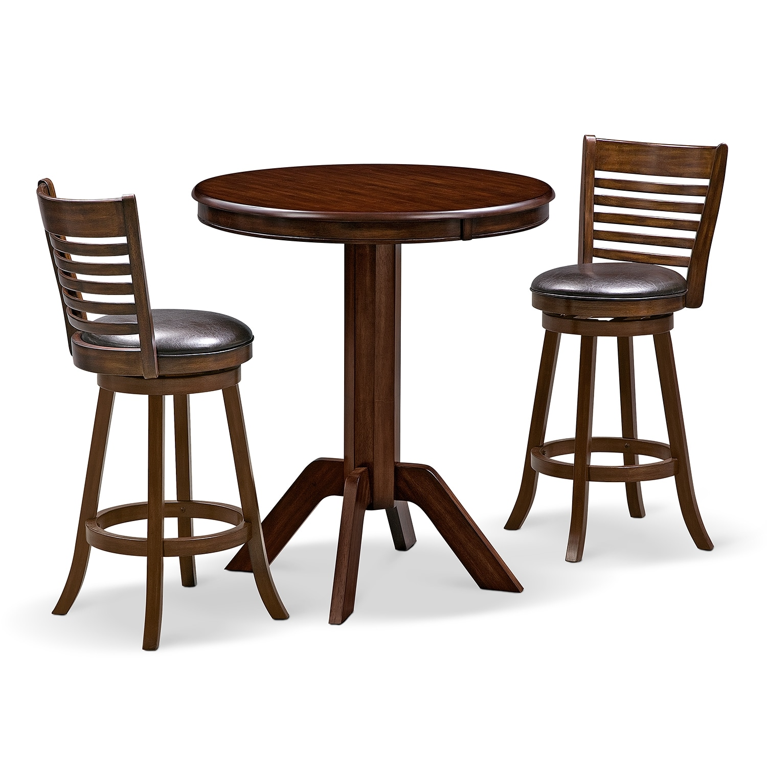 Dining Room Furniture - Concord Chance 3 Pc. Bar-Height Dinette