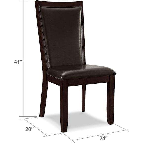 Dining Room Furniture - Paragon Chair - Brown