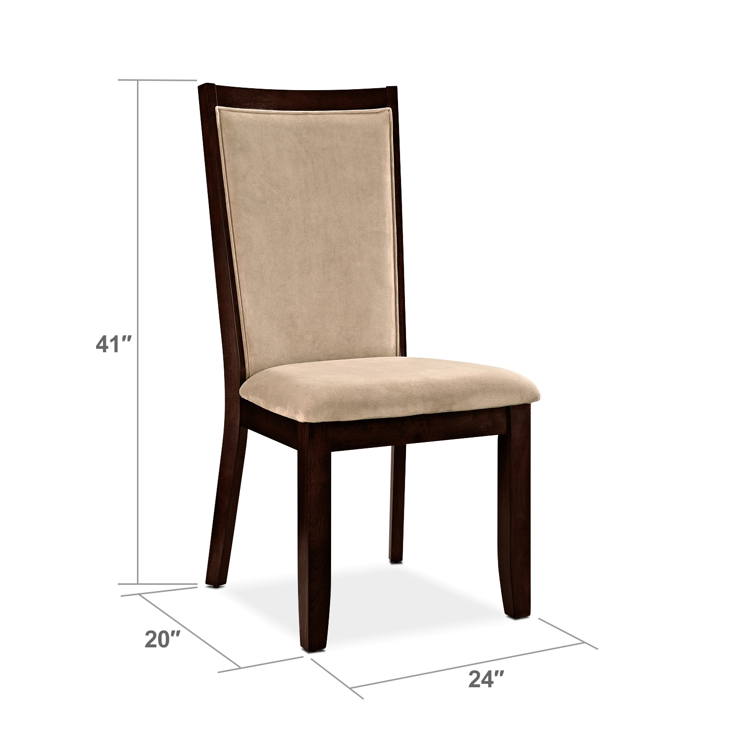 Dining Room Furniture - Paragon Chair - Camel