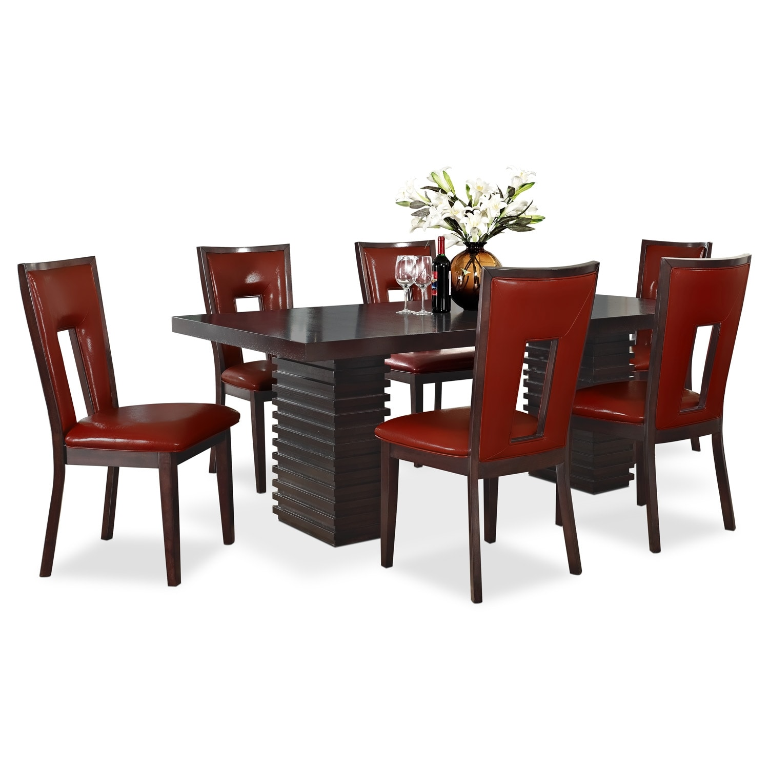 Dining Room Furniture - Paragon Madera 7 Pc. Dining Room