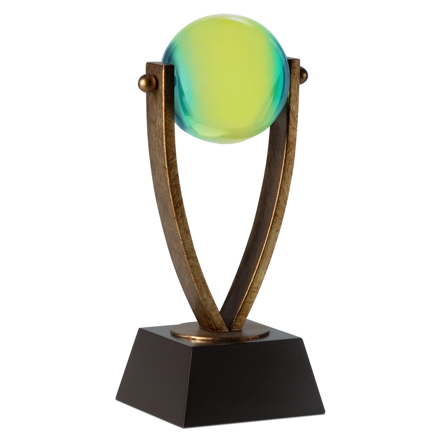 Blue and Green Ball Tabletop Accessory