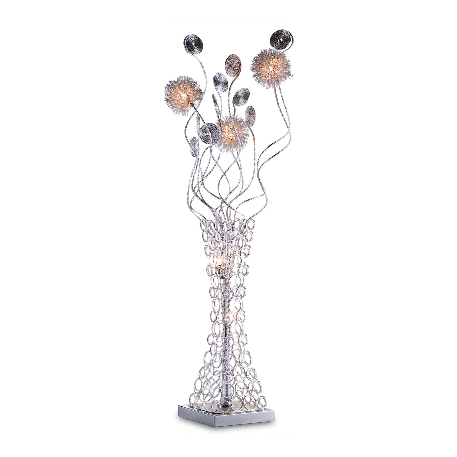 Home Accessories - Metal Flower Table Lamp