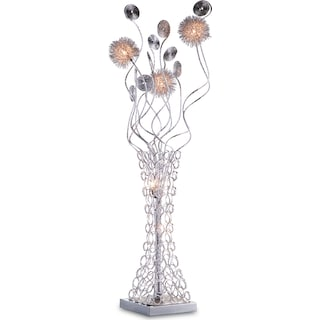 Metal Flower Table Lamp