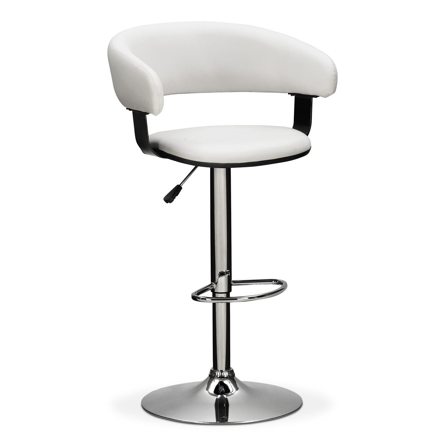 Accent and Occasional Furniture - Glasgo Adjustable Barstool