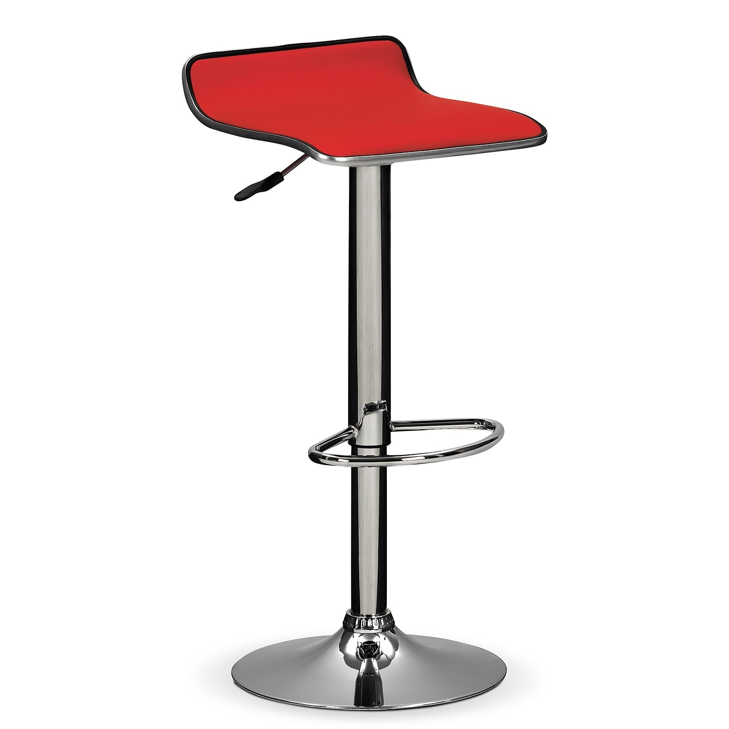 Accent and Occasional Furniture - Lisbon Adjustable Barstool