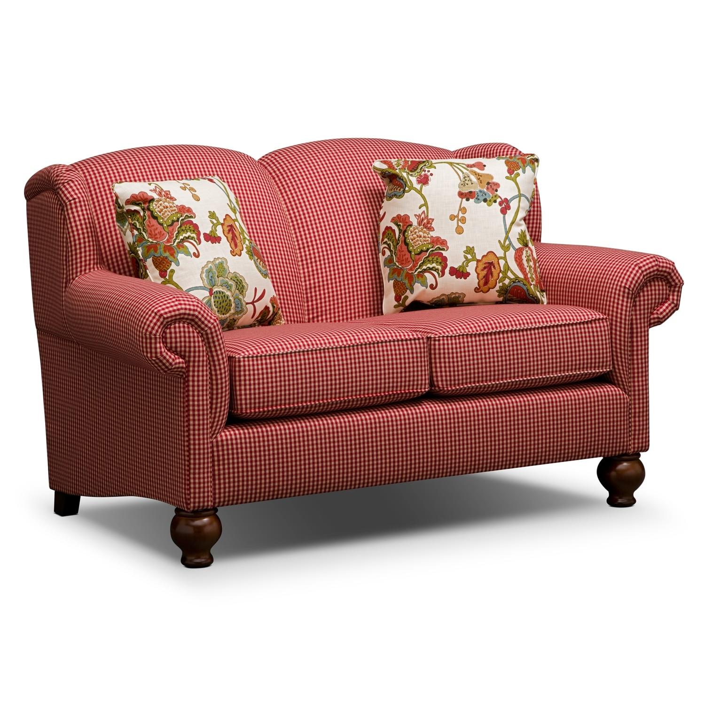 Living Room Furniture - Charlotte Loveseat