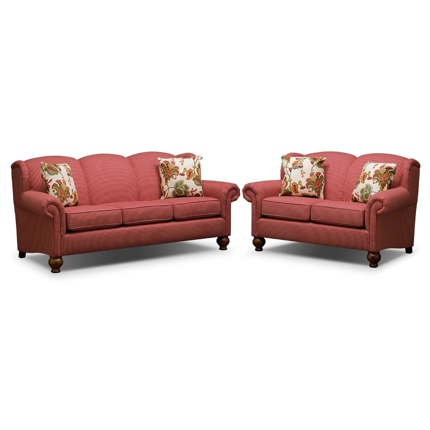 Living Room Furniture - Charlotte 2 Pc. Living Room