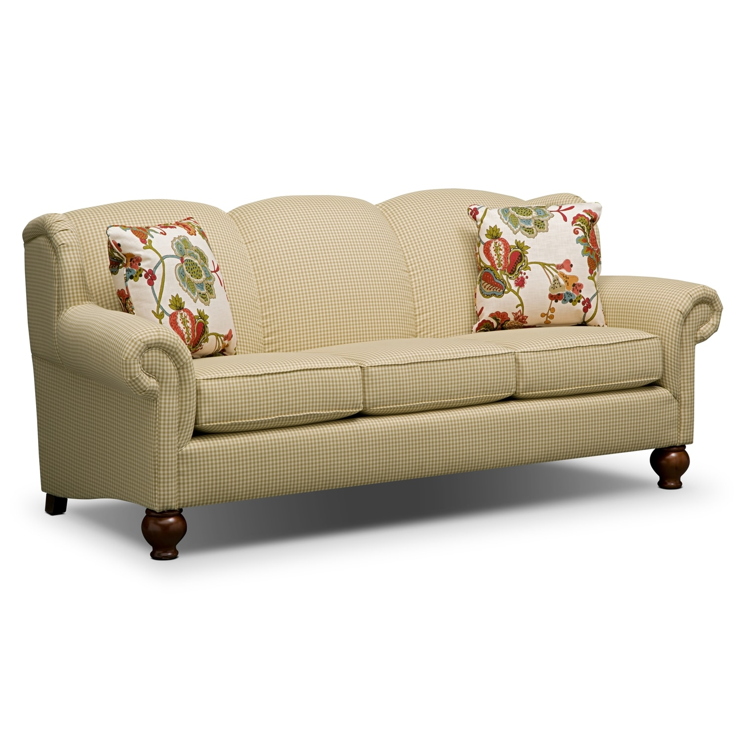Living Room Furniture - Charlotte II Sofa