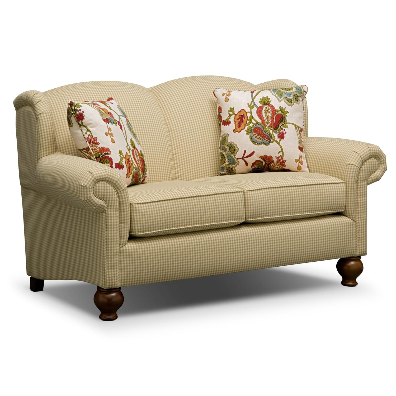 Living Room Furniture - Charlotte II Loveseat