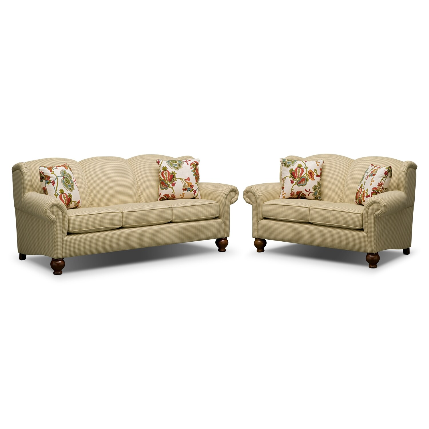 Living Room Furniture - Charlotte II 2 Pc. Living Room