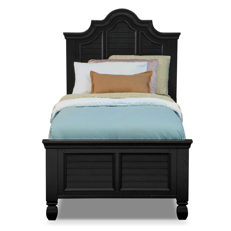 Plantation Bedroom Furniture Plantation Cove Full Bed Black Value City Furniture