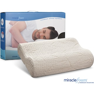 Miracle Foam Contour Pillow