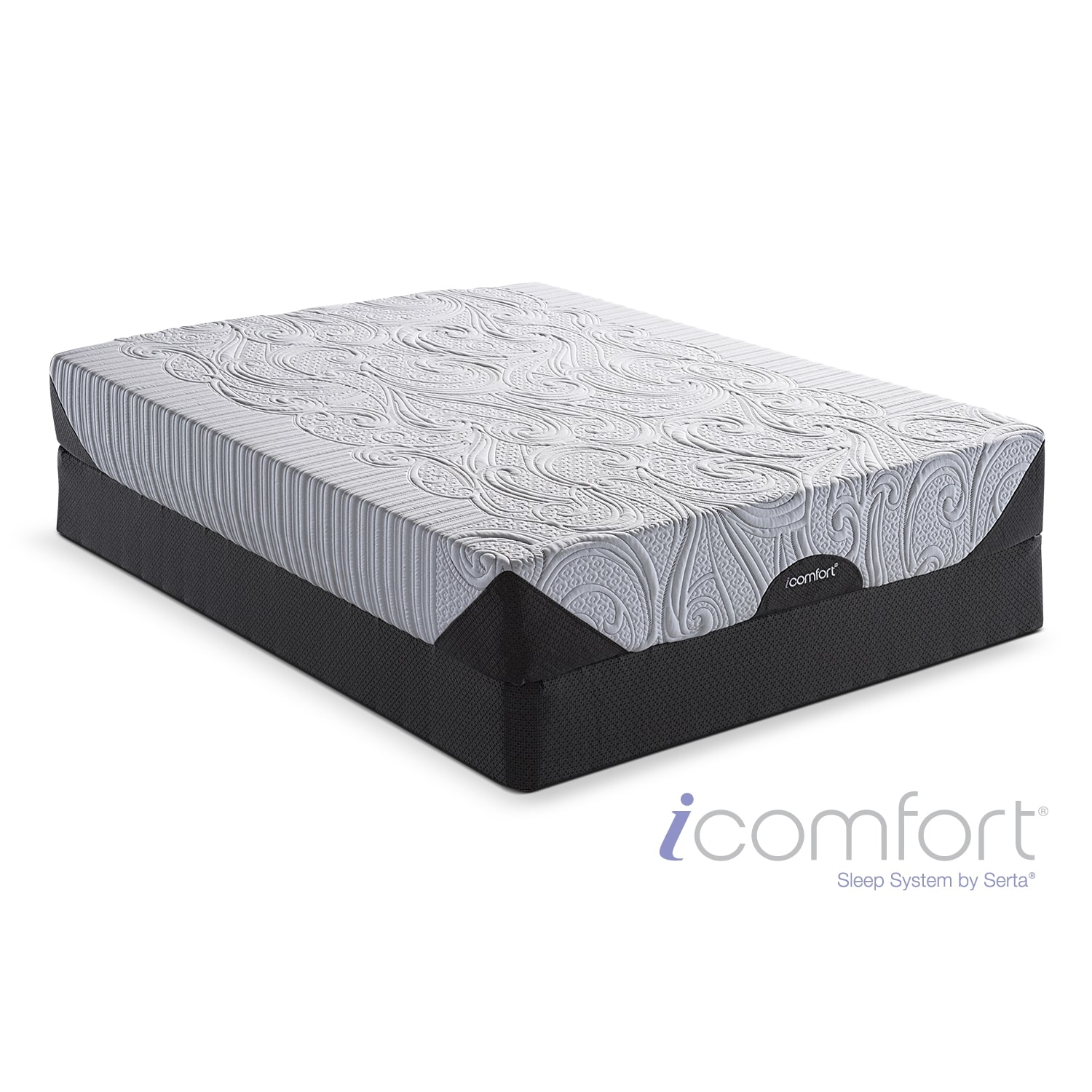 [iComfort Genius EverFeel Full Mattress/Foundation Set]