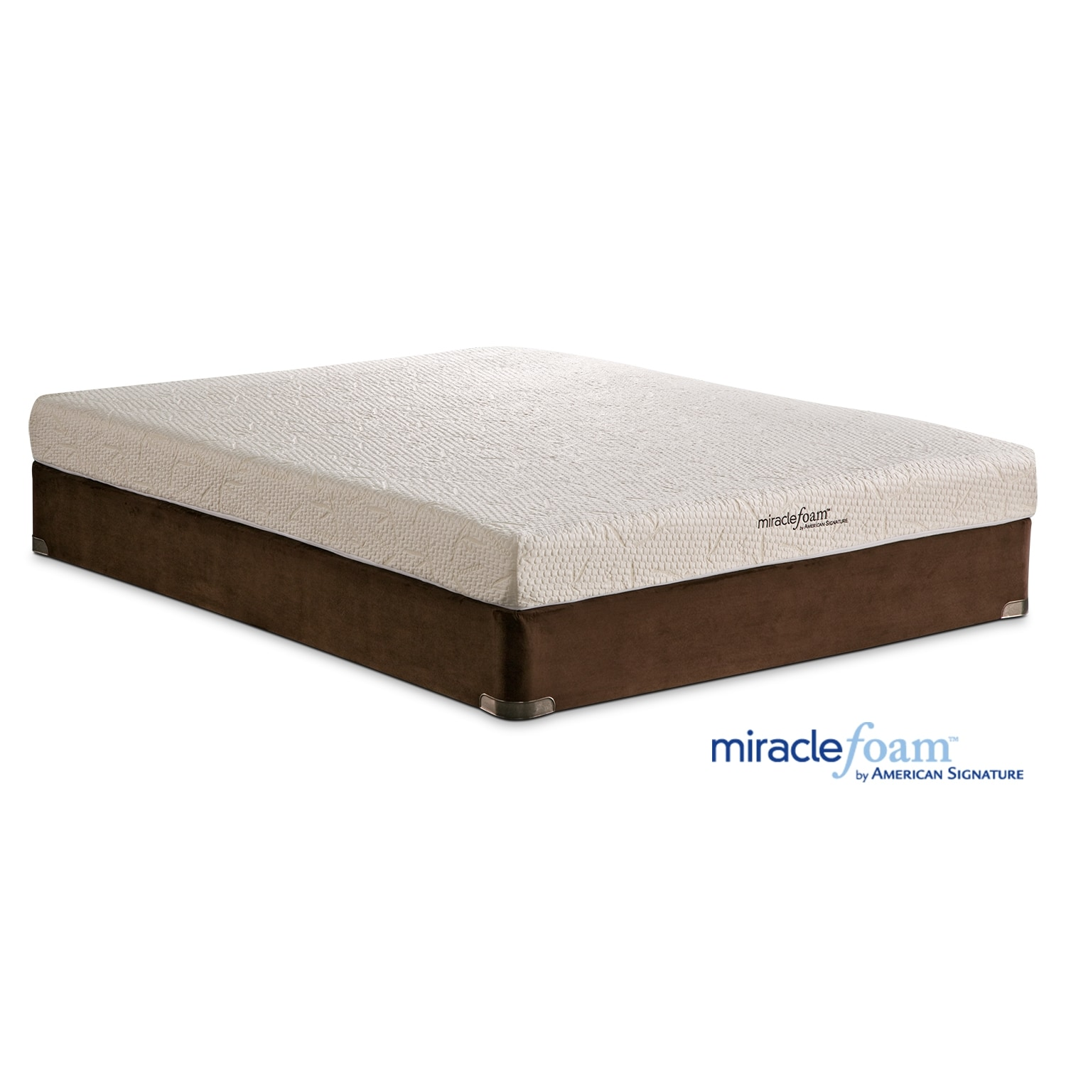 Mattresses and Bedding - Miracle Foam Renew II Full Mattress & Foundation Set