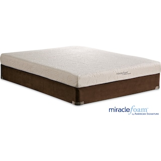 Renew Medium Firm Queen Mattress and Split Foundation Set