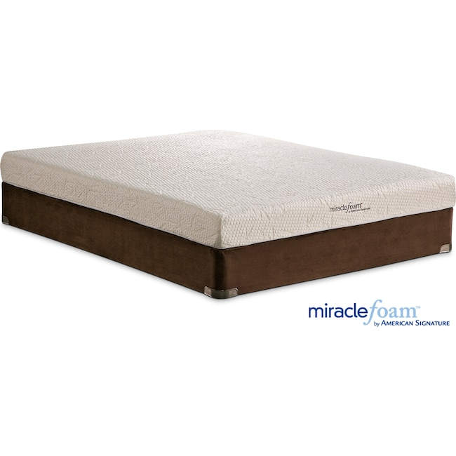 Mattresses and Bedding - Renew II Twin Mattress and Foundation Set