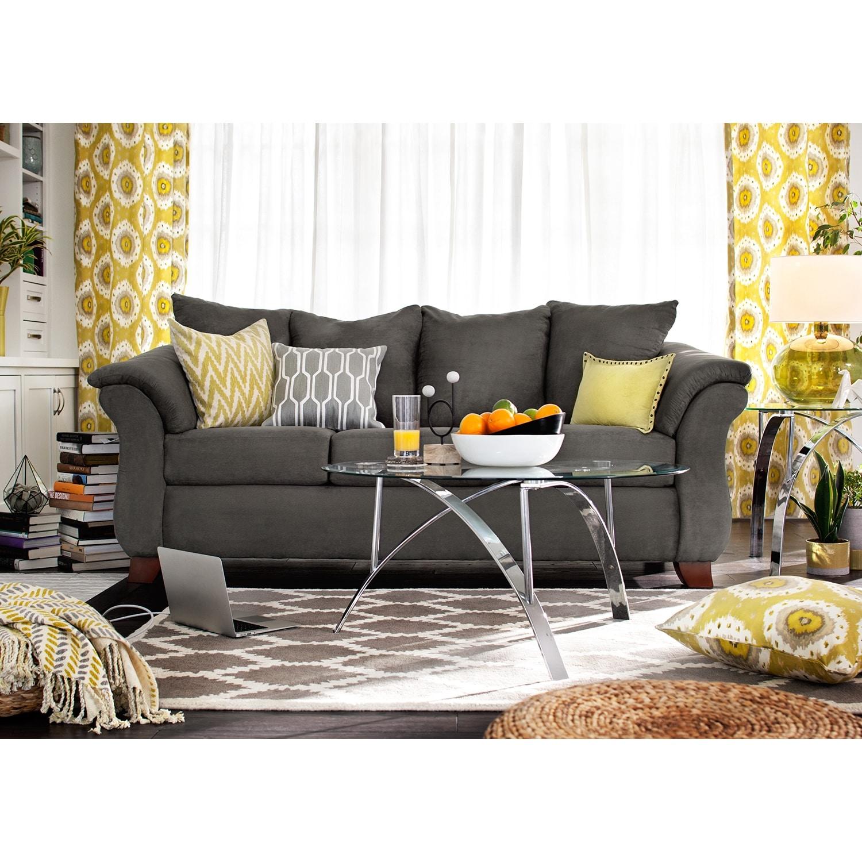 Composite Leather Sofa: Value City Furniture