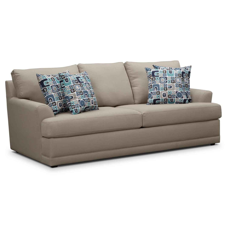 Kismet II Queen Memory Foam Sleeper Sofa