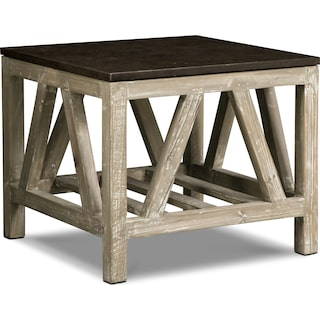 Grandin End Table - Brown