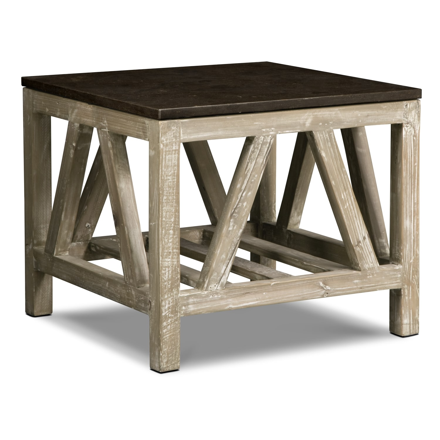 Grandin End Table - Brown  sc 1 st  Value City Furniture & End Tables | Living Room Tables | Value City Furniture and Mattresses
