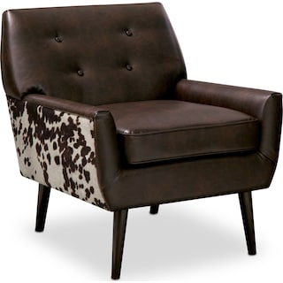 Madeline Accent Chair - Chocolate