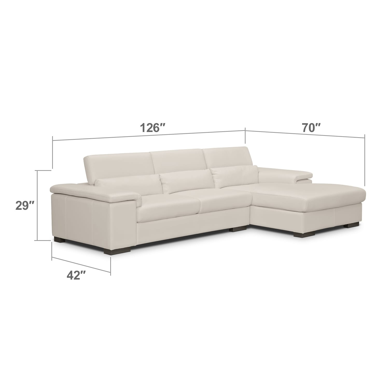 Living Room Furniture - Ventana 2 Pc. Sectional
