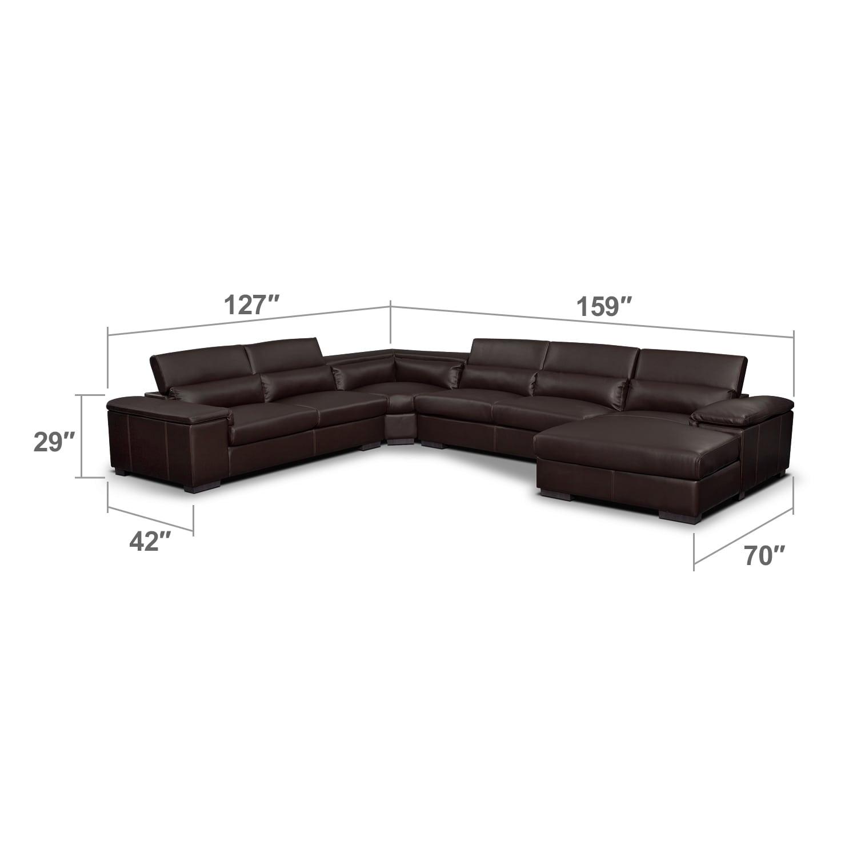 Living Room Furniture - Ventana II 4 Pc. Sectional