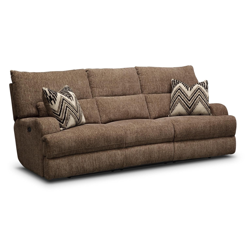 Living Room Furniture - Sundance Power Reclining Sofa