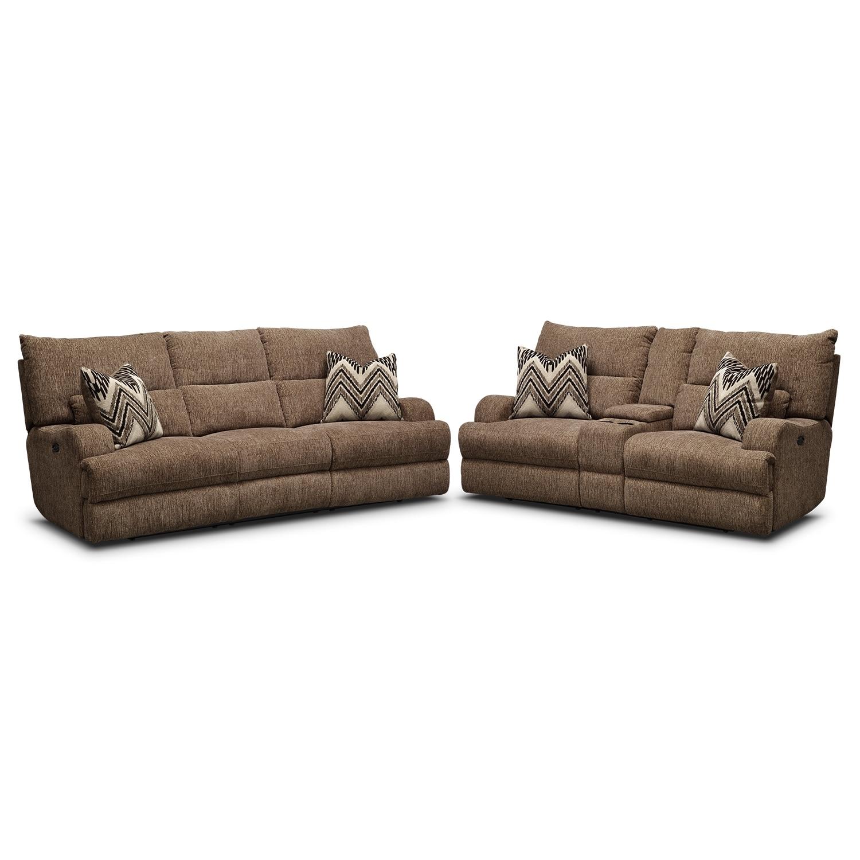 Living Room Furniture - Sundance 2 Pc. Power Reclining Living Room