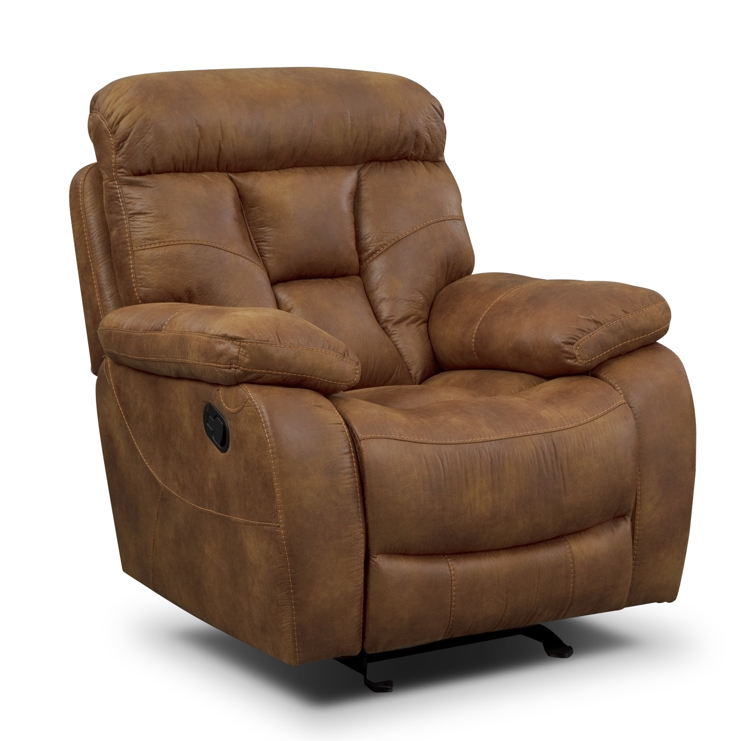 Dakota Glider Recliner - Almond