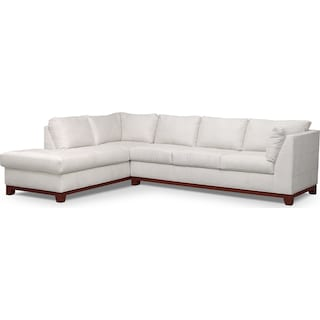 Soho 2-Piece Sectional with Left-Facing Chaise - Cement