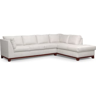 Soho 2-Piece Sectional with Right-Facing Chaise - Cement