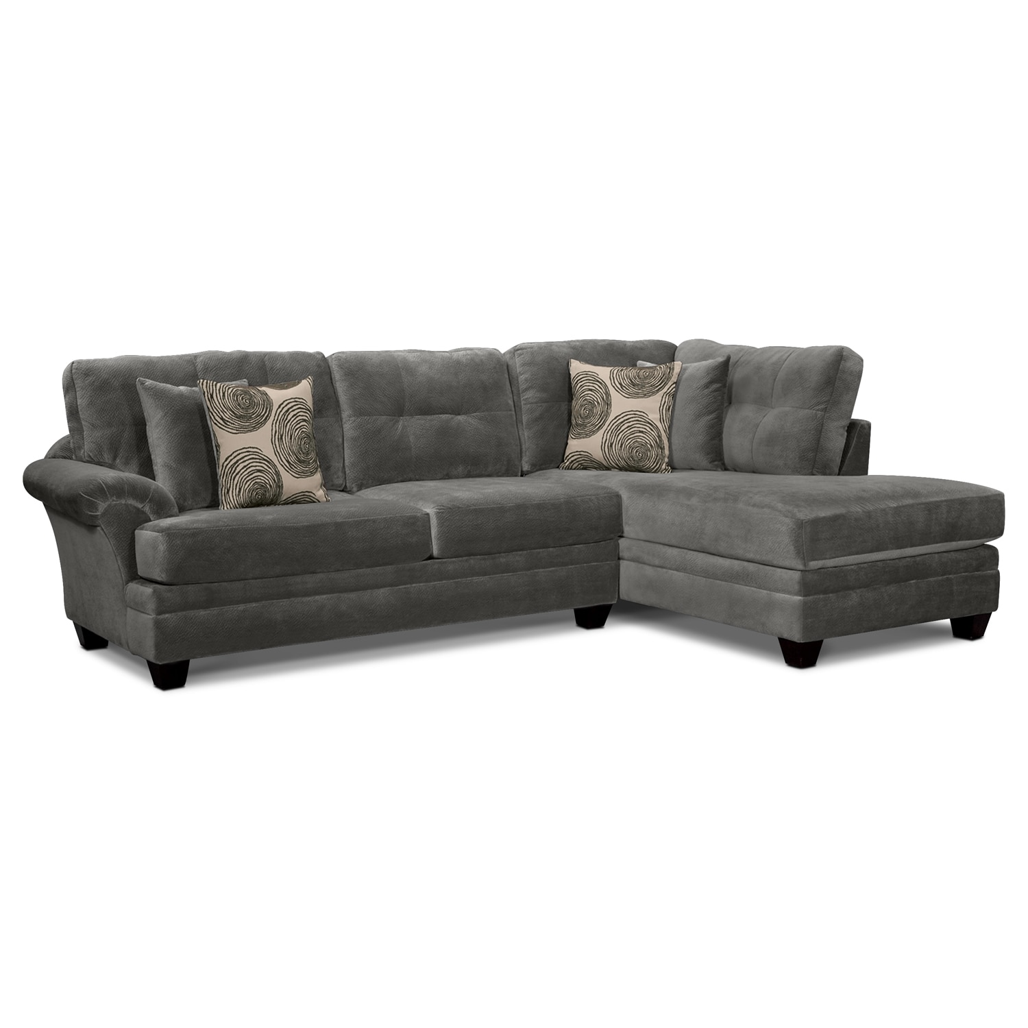 Sectionals Living Room Sectional Sofas Value City Funiture Value City Furniture
