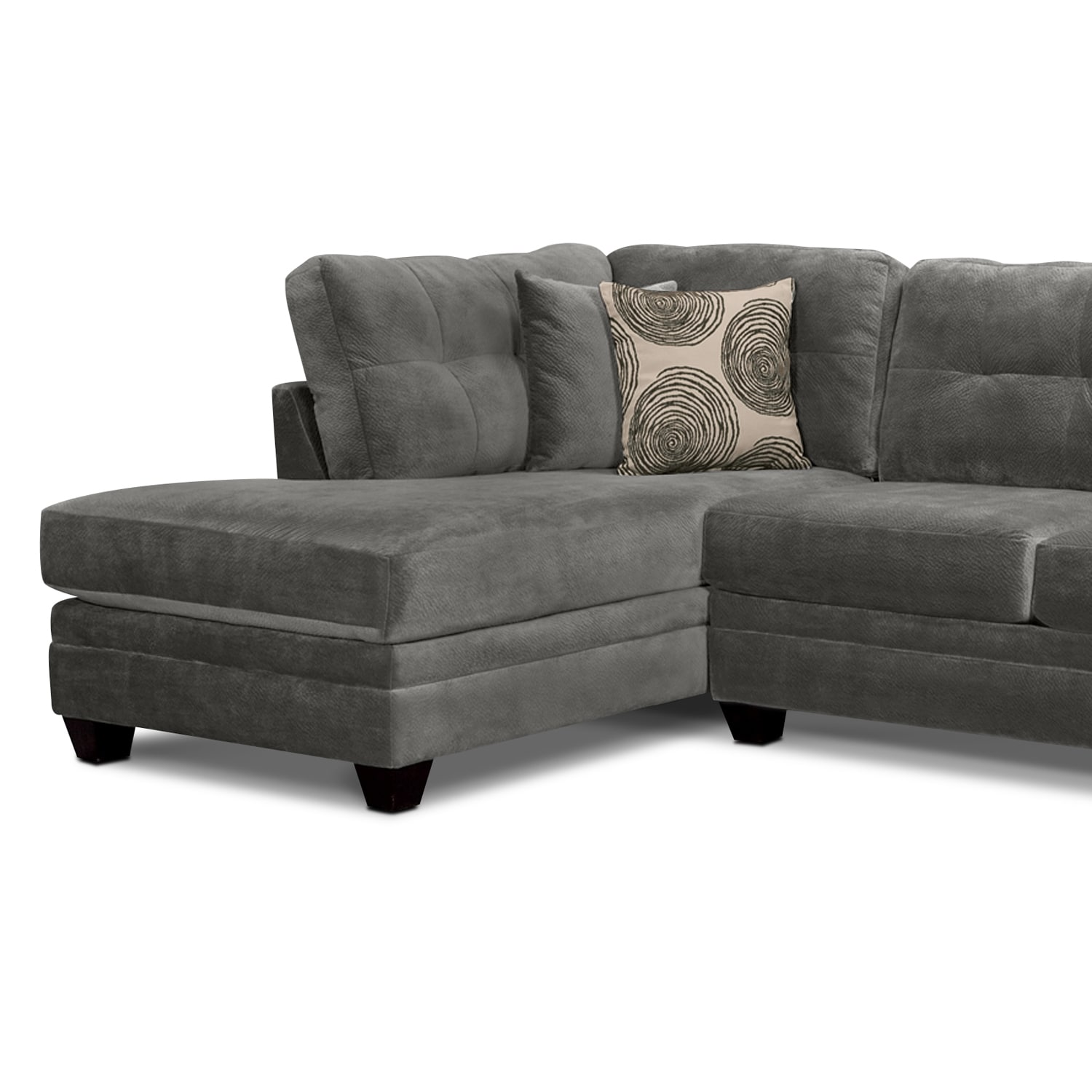 Click to change image.  sc 1 st  Value City Furniture : left facing chaise sectional - Sectionals, Sofas & Couches