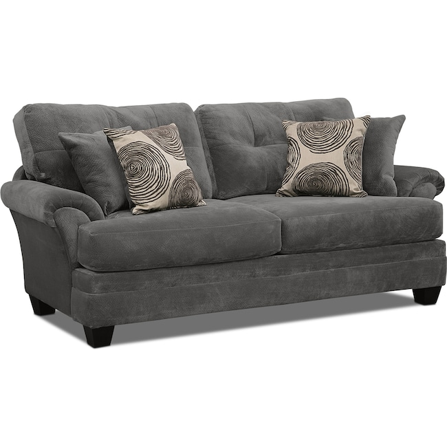 Living Room Furniture - Cordelle Sofa - Gray