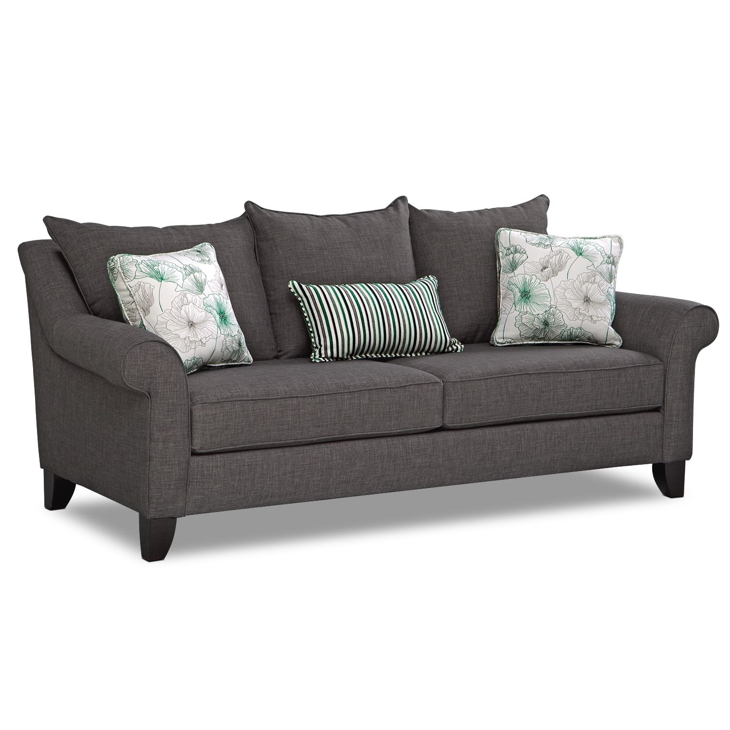 Jasmine Queen Innerspring Sleeper Sofa Value City Furniture