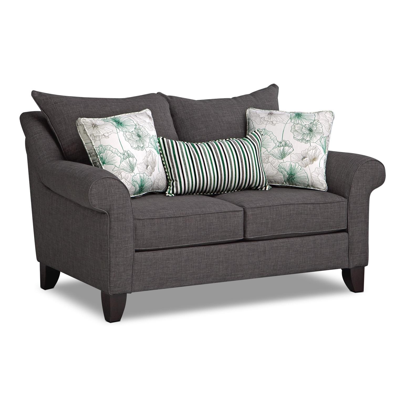Living Room Furniture - Jasmine Loveseat