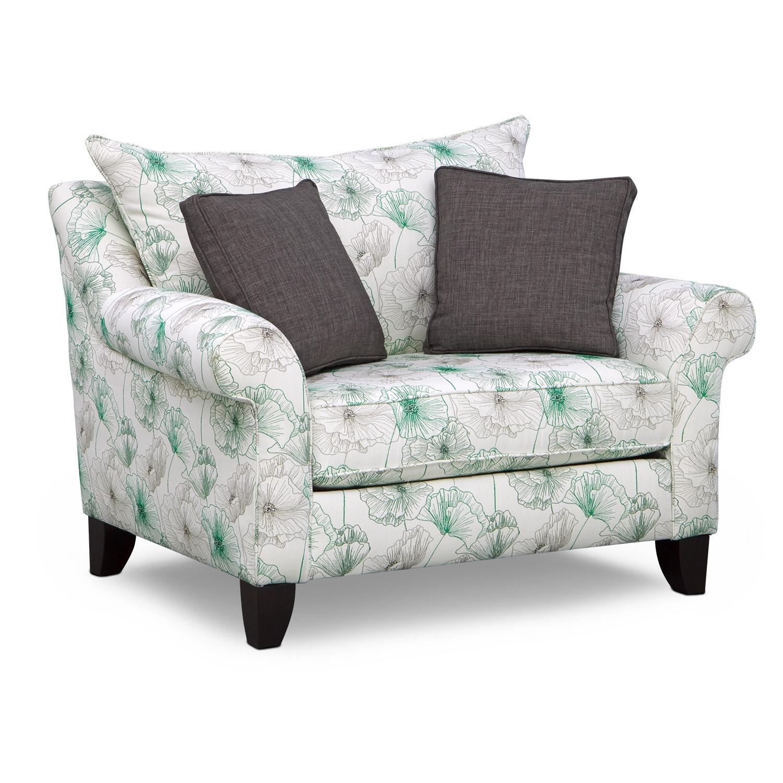 Jasmine Chair and a Half