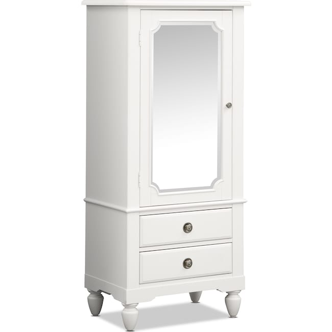 Kids Furniture - Seaside Lingerie Chest - White