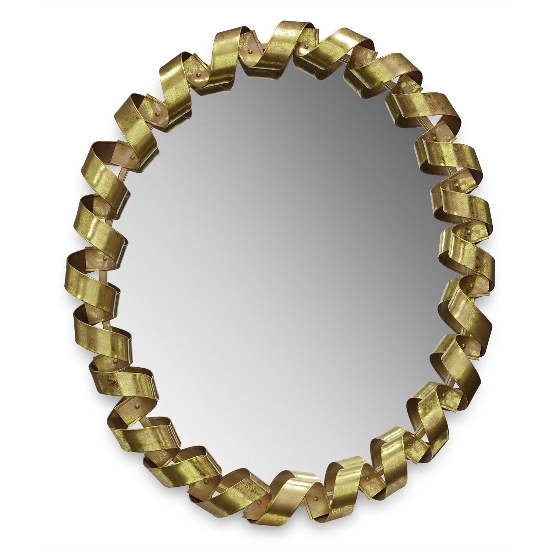 Home Accessories - Fiesta Gold Mirror