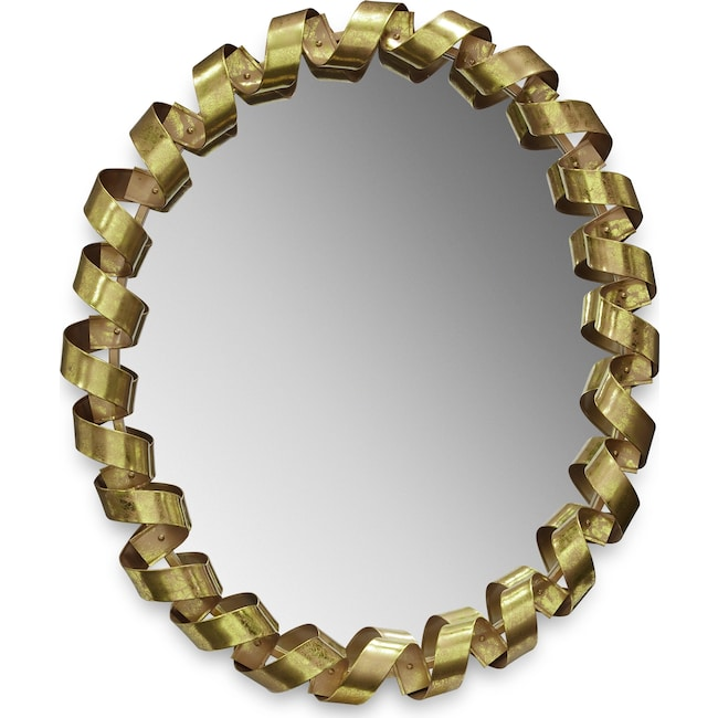 Home Accessories - Fiesta Gold Mirror