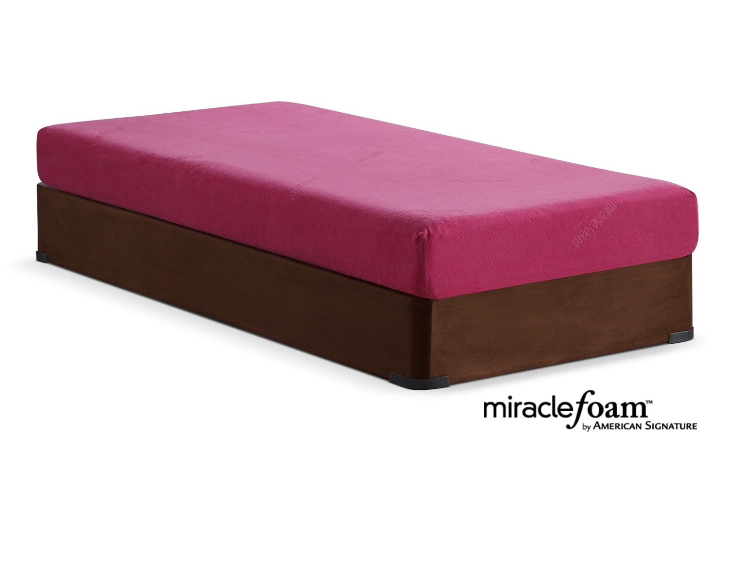The Renew Pink Medium Firm Youth Mattress Collection - Pink