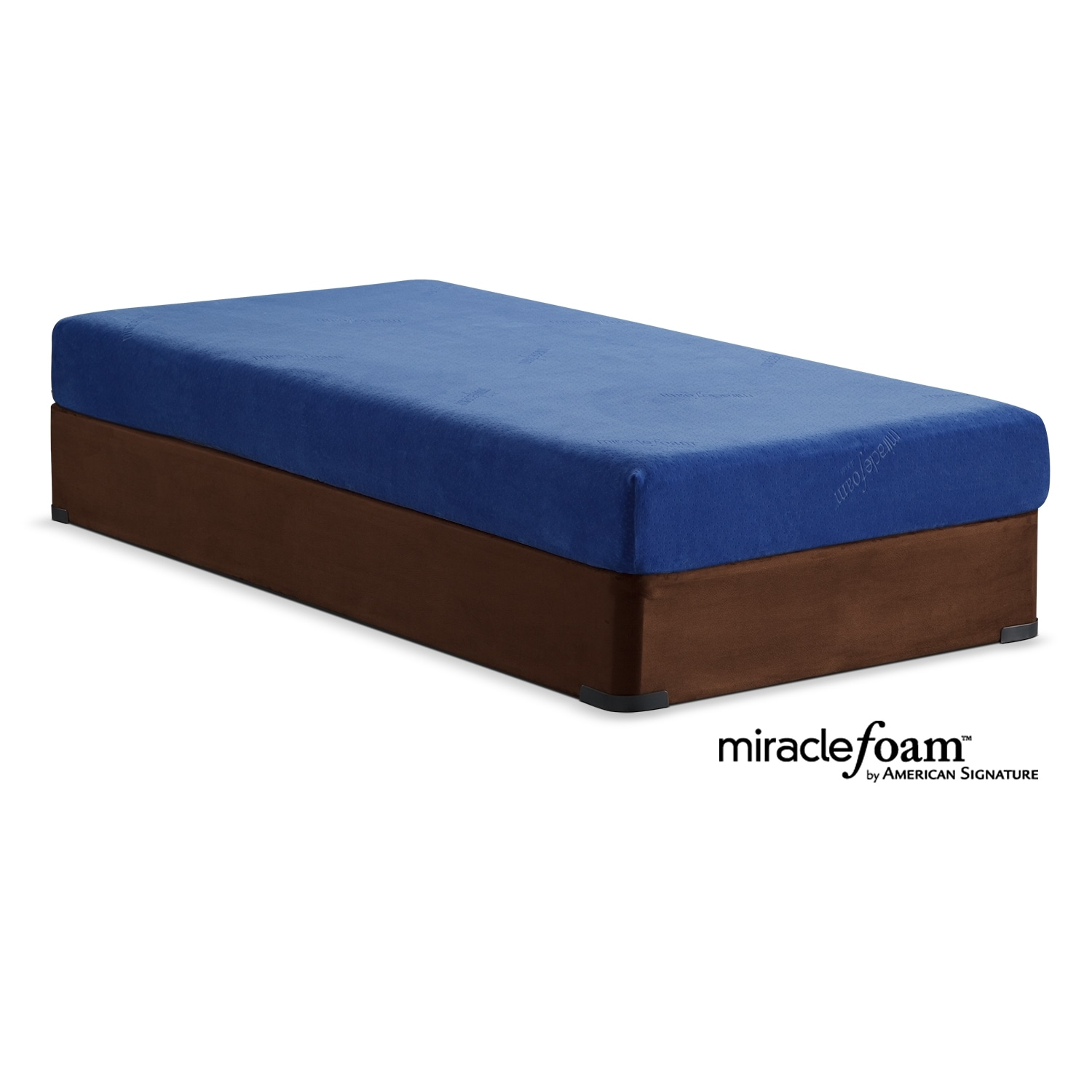[Renew Blue Full Mattress/Foundation Set]