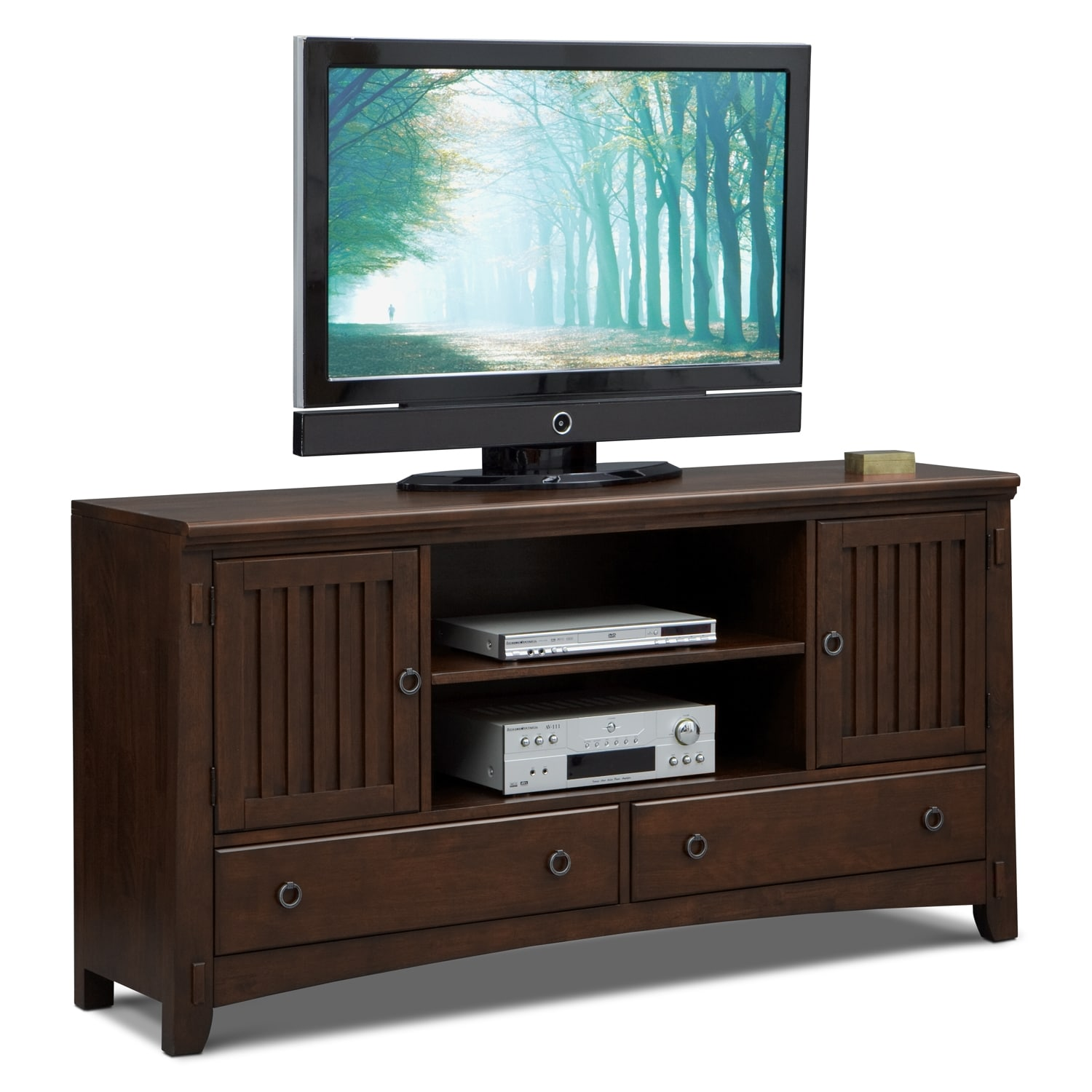 Entertainment Furniture - Arts & Crafts Dark II TV Stand