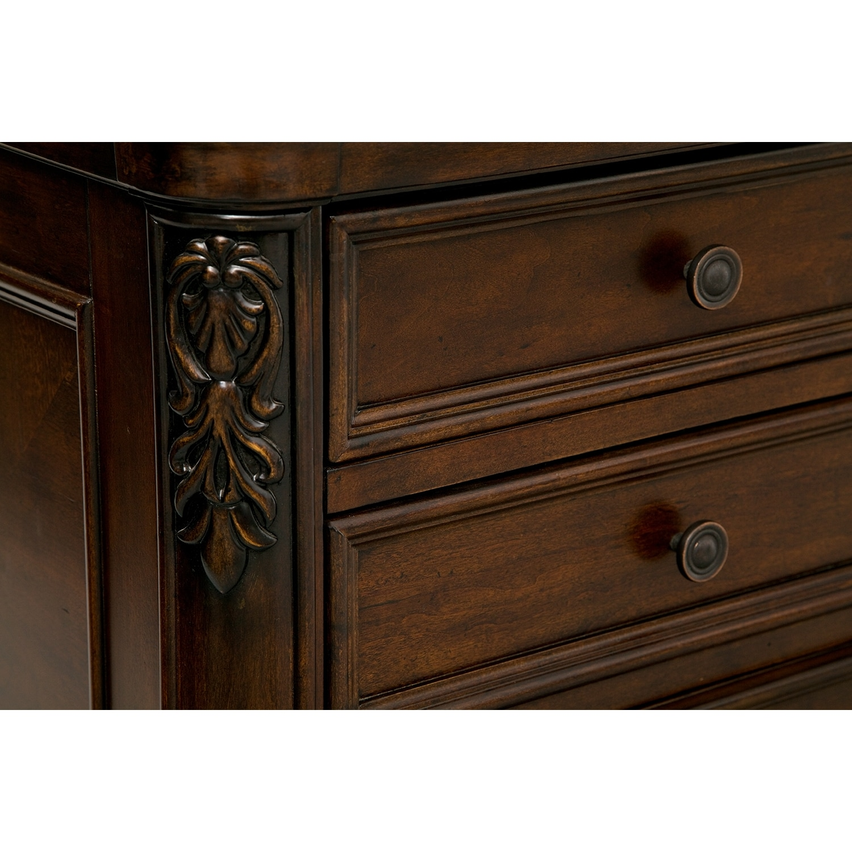 Cherry File Cabinets Ashland Combo File Cabinet Cherry Value City Furniture