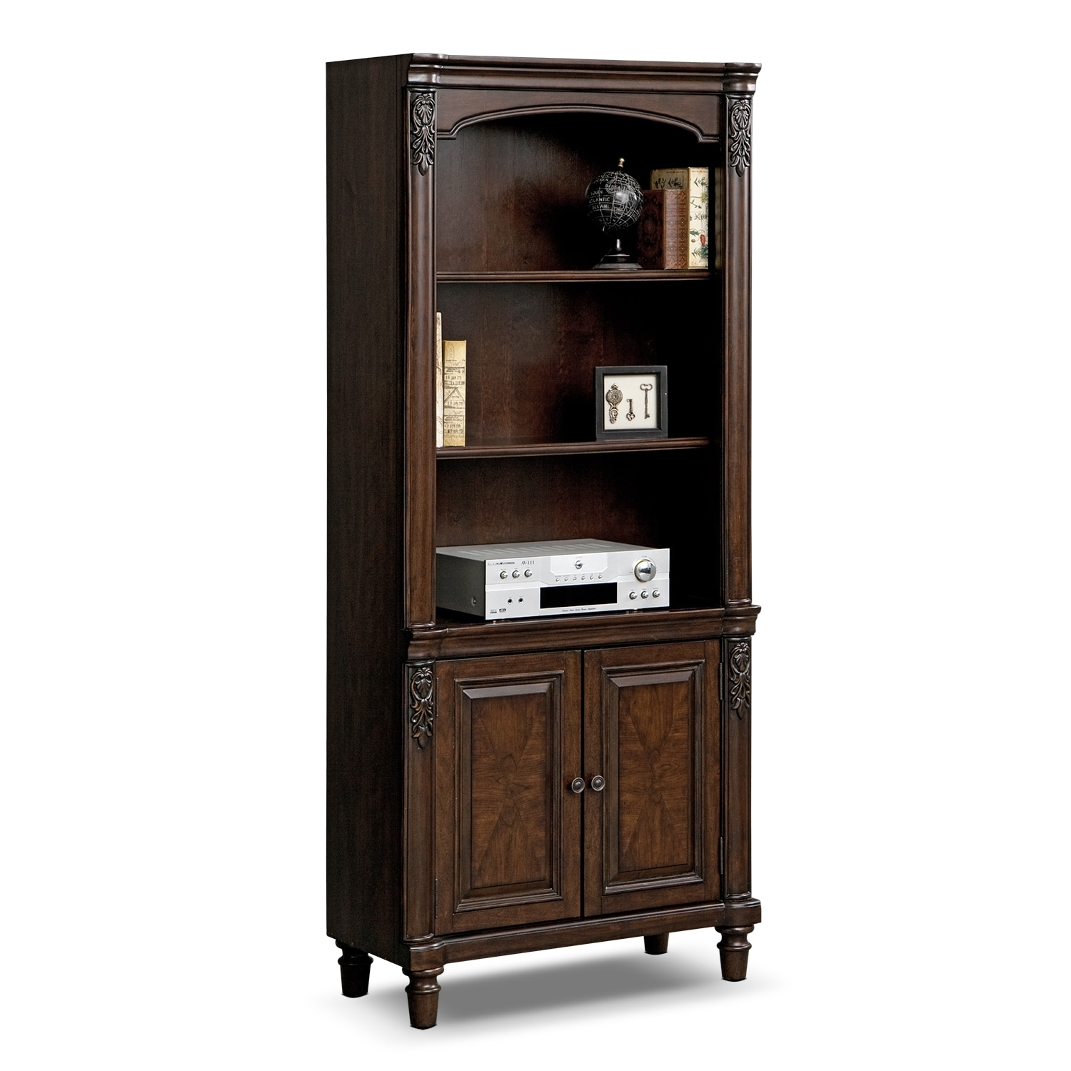 Home Office Furniture - Ashland Cabinet Bookcase