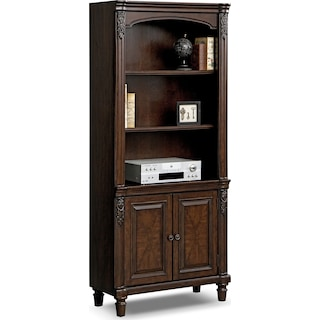 Ashland Door Bookcase - Cherry