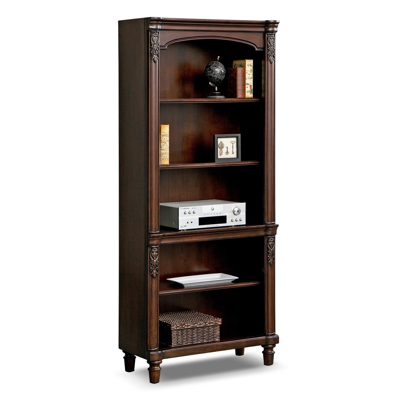 Perfect Ashland Bookshelf   Cherry